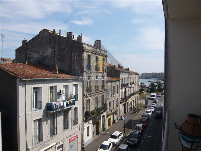 Vente appartement Sete 99 000€ - Photo 1