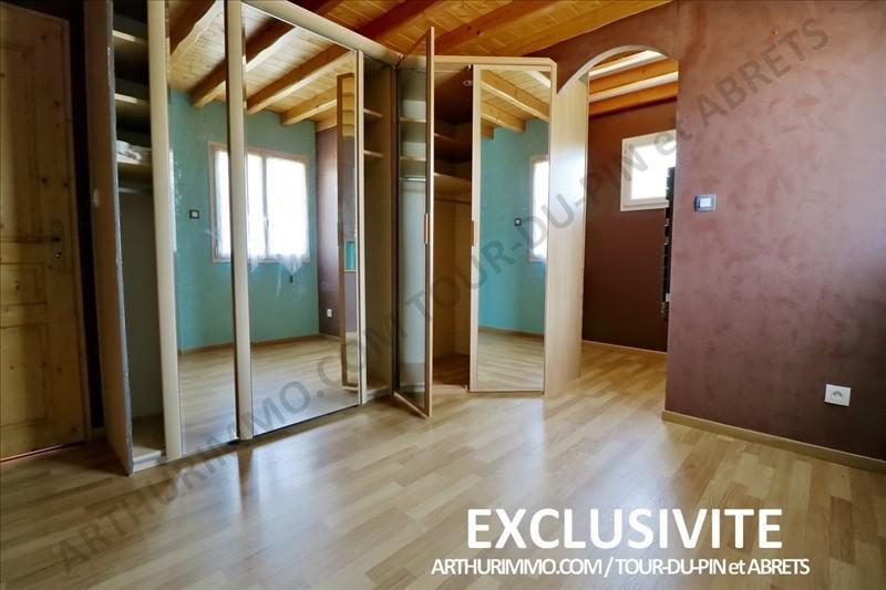 Sale house / villa La tour du pin 242000€ - Picture 9