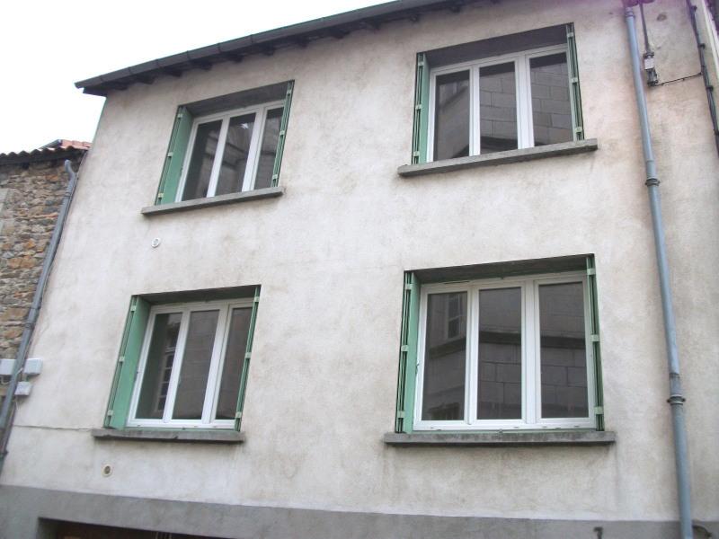 Immeuble composé de deux F3