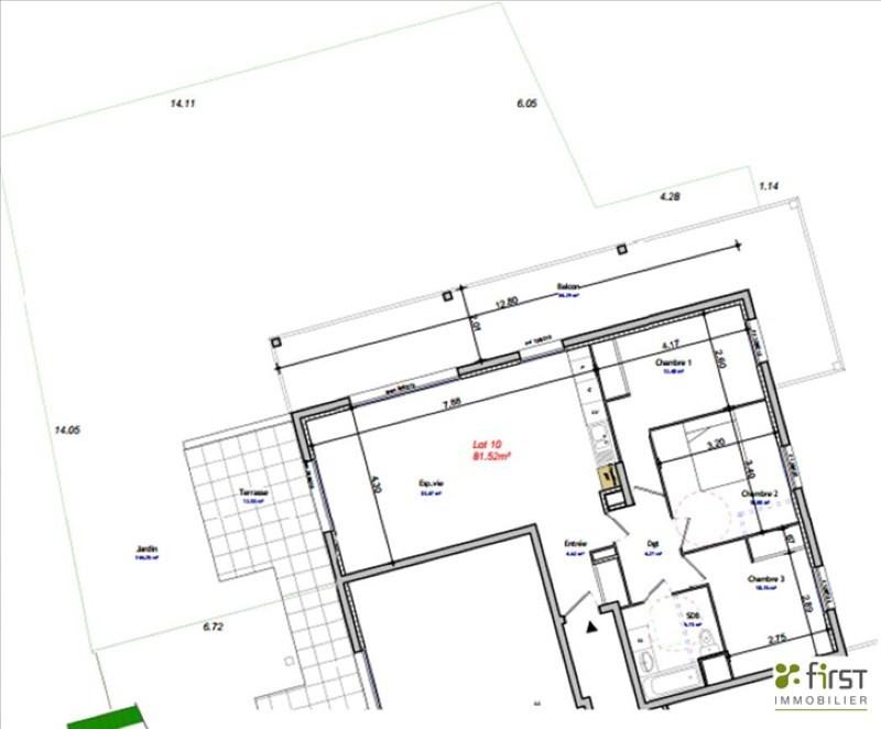 Venta  apartamento Balme de sillingy 314000€ - Fotografía 2