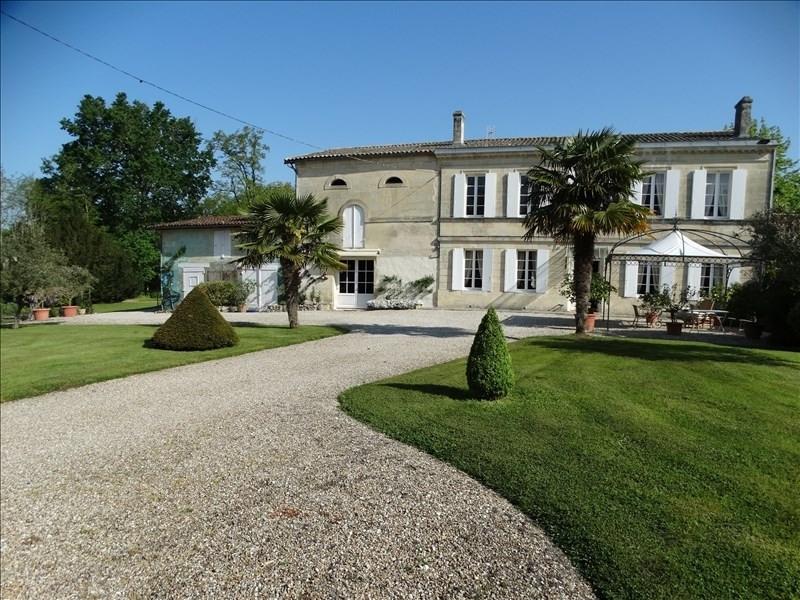 Vente de prestige maison / villa Soussans 997500€ - Photo 1