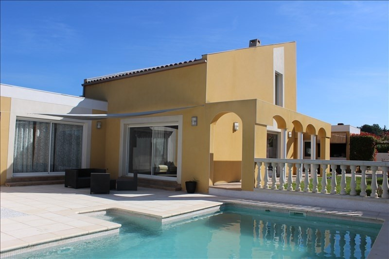 Vente maison / villa Thezan les beziers 375000€ - Photo 1