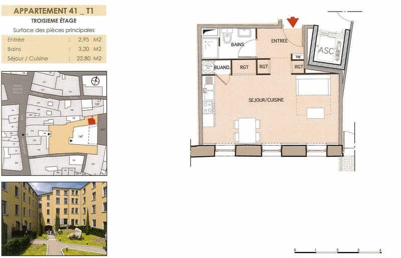 Location appartement Vienne 440€ CC - Photo 2