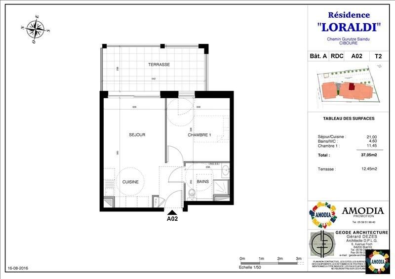 Venta  apartamento Ciboure 130000€ - Fotografía 2