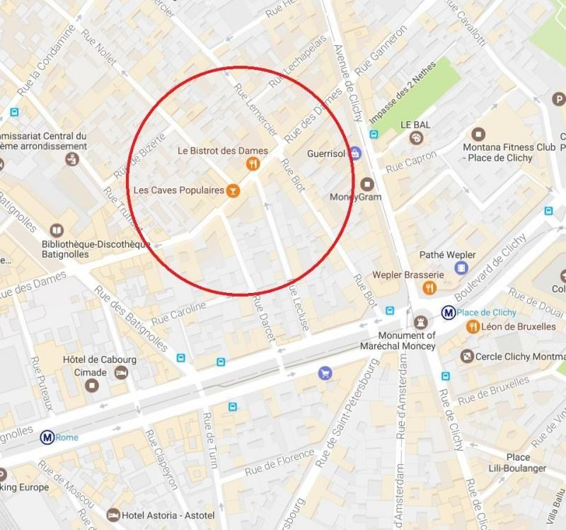 Location Local commercial Paris 17ème 0