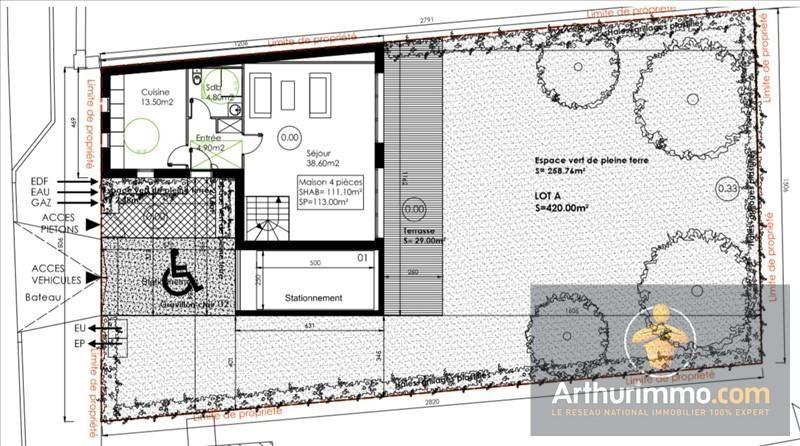 Vente maison / villa Savigny le temple 139000€ - Photo 2