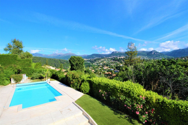 Deluxe sale house / villa Vence 739 000€ - Picture 1