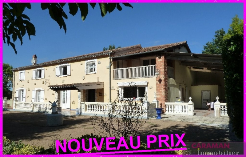 Deluxe sale house / villa Caraman  10 minutes 460 000€ - Picture 1