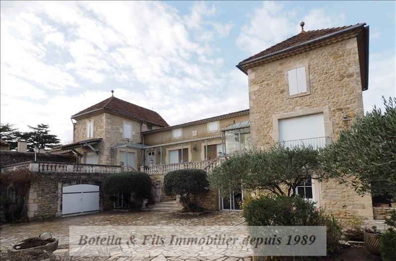 Vente de prestige maison / villa Uzes 830000€ - Photo 1
