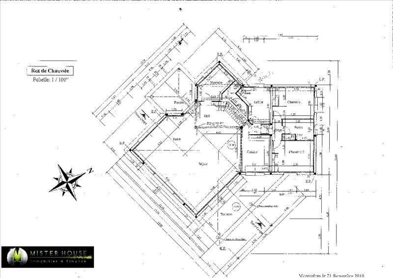 Immobile residenziali di prestigio casa Montauban 760000€ - Fotografia 4