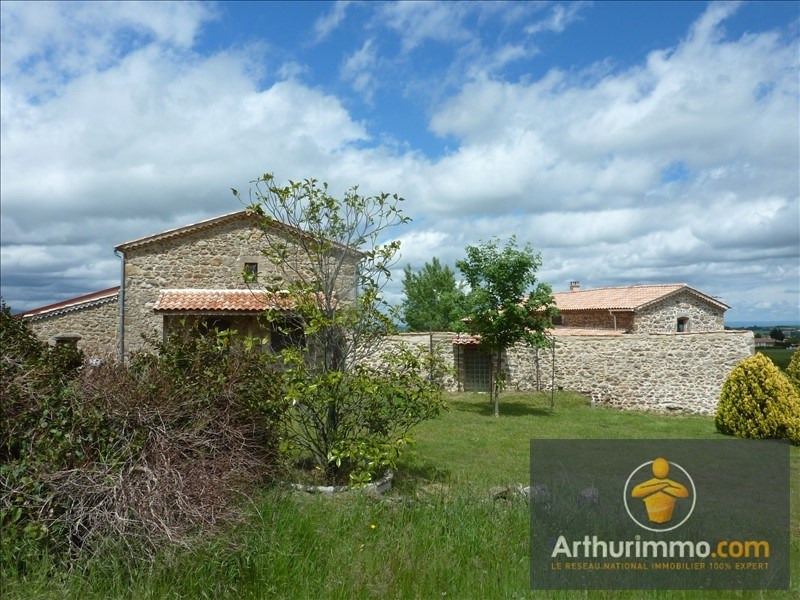 Vente de prestige maison / villa St jeure d ay 390000€ - Photo 1
