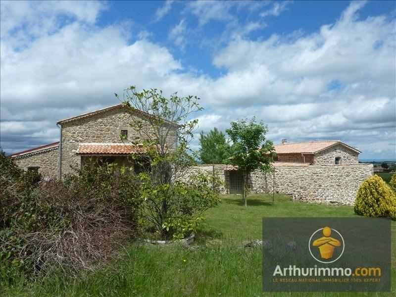 Deluxe sale house / villa St jeure d ay 390000€ - Picture 1