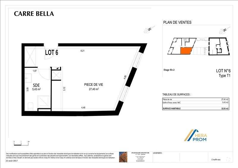 Vente appartement Montpellier 122800€ - Photo 3