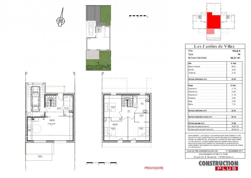 Sale house / villa Villaz 385000€ - Picture 2
