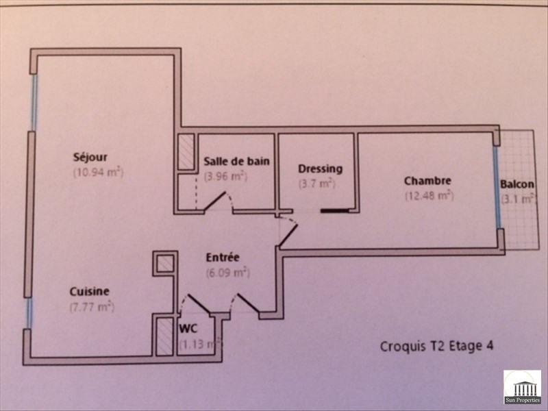 Vente appartement Le cannet 169000€ - Photo 9