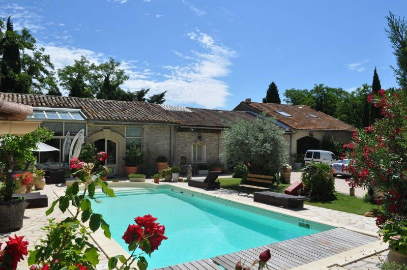 Verkauf von luxusobjekt haus Chateauneuf de gadagne 1567000€ - Fotografie 1