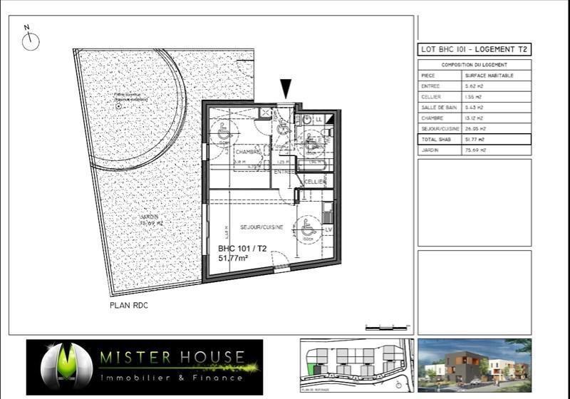 Sale apartment Montauban 130248€ - Picture 2
