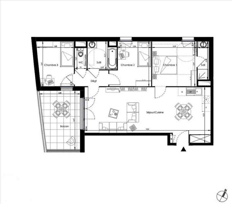 Vendita appartamento La londe les maures 316000€ - Fotografia 1