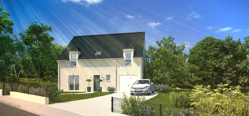 """Modèle de maison  """"Histoire 4.138"""" à partir de 5 pièces Seine-et-Marne par MAISONS PIERRE"""
