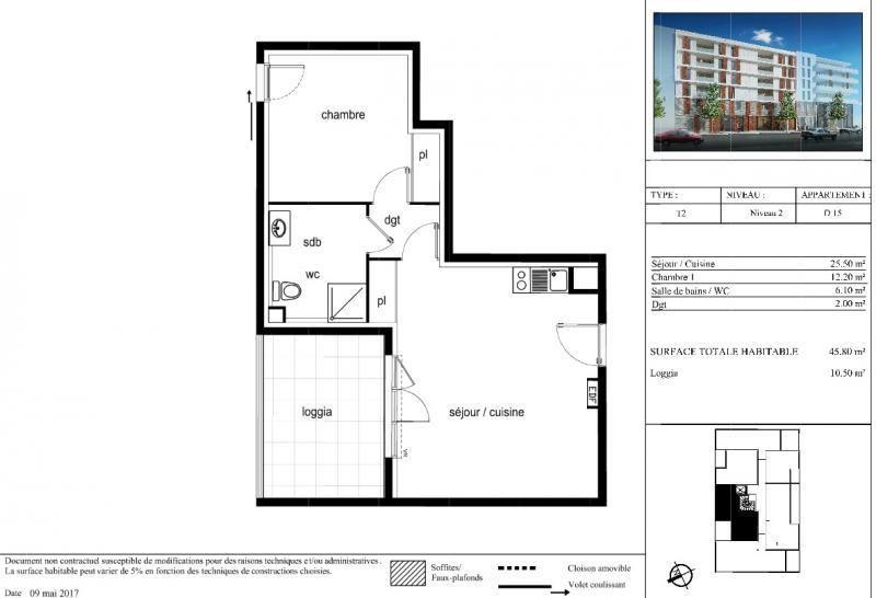 Sale apartment Montpellier 165001€ - Picture 3