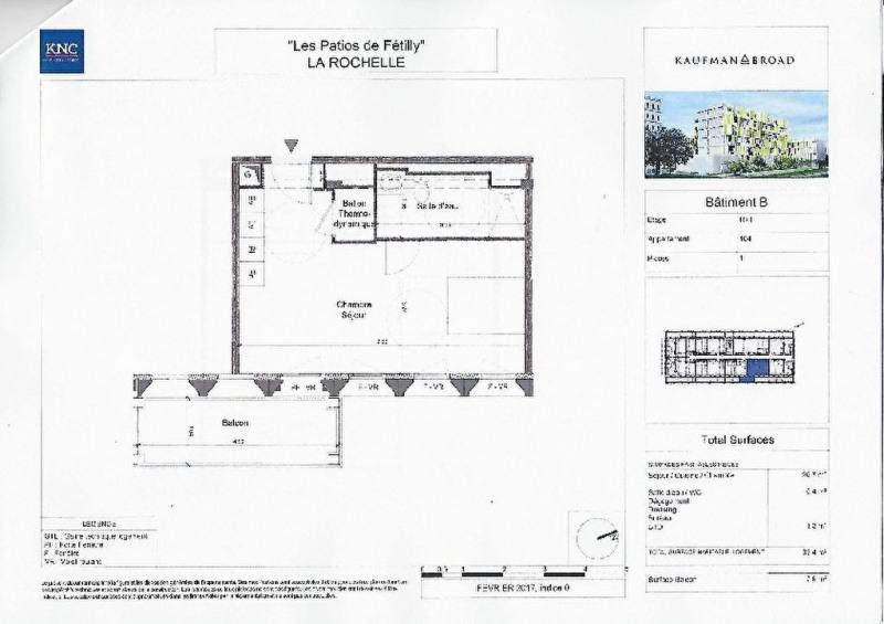 Sale apartment La rochelle 136500€ - Picture 2