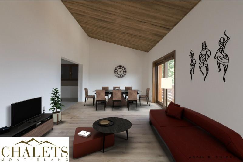Vente de prestige appartement Combloux 700900€ - Photo 1