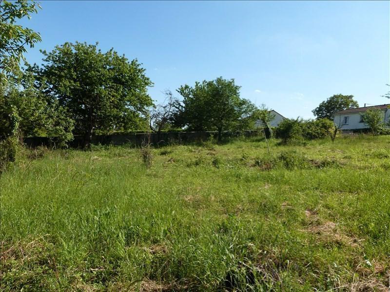 Vente terrain Vouneuil sur vienne 35000€ - Photo 2