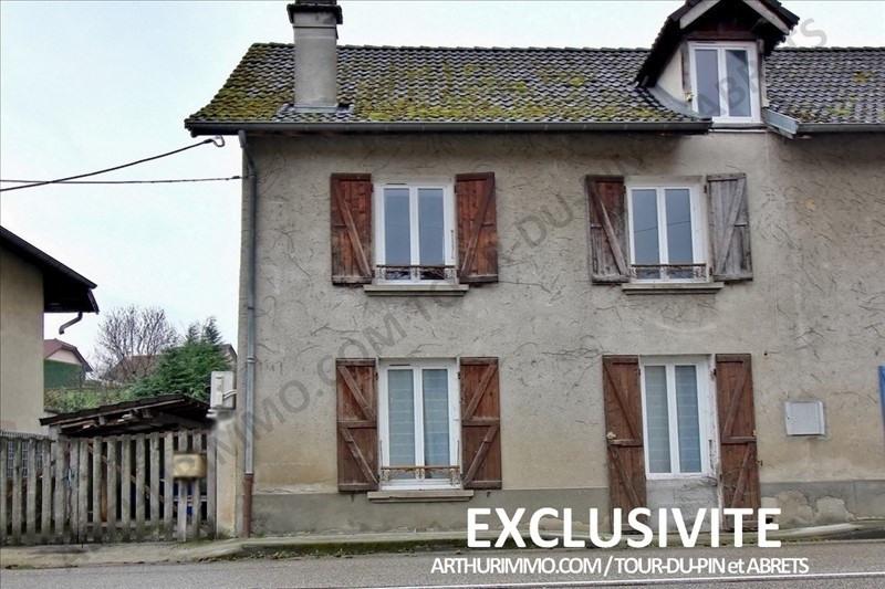 Sale house / villa Le pont de beauvoisin 125000€ - Picture 1