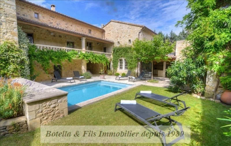 Deluxe sale house / villa Uzes 1 280 000€ - Picture 1