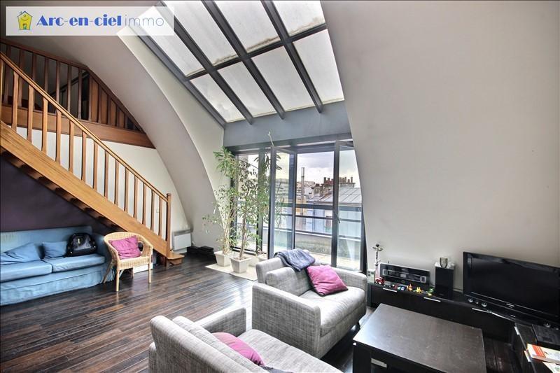 Vente appartement Paris 19ème 649000€ - Photo 1