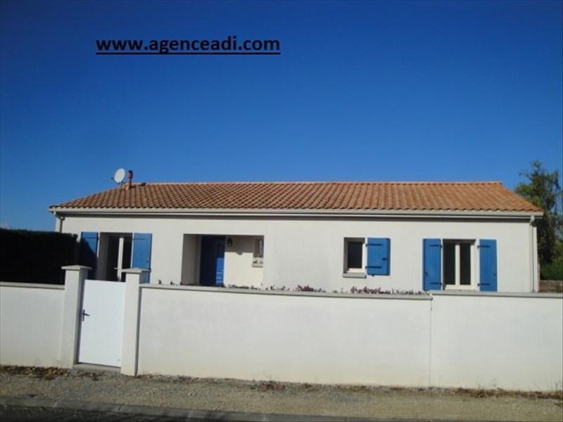 Vente maison / villa Saint maixent l'ecole 166400€ - Photo 1