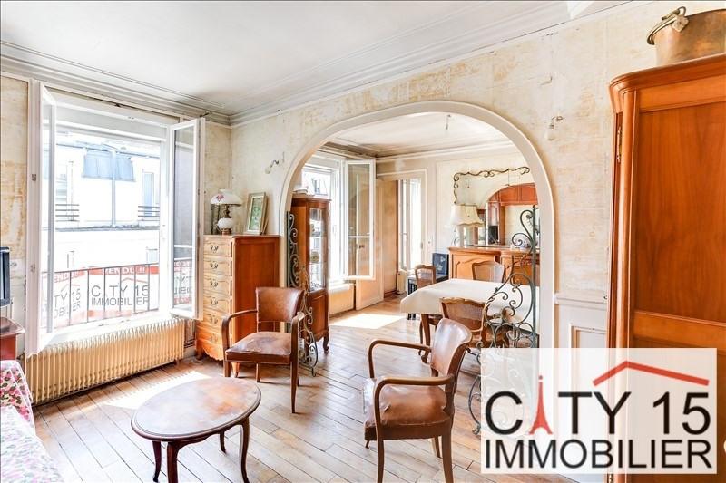 Sale apartment Paris 15ème 395000€ - Picture 1