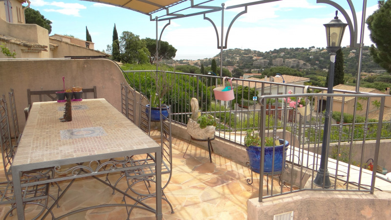 Vacation rental house / villa Cavalaire sur mer 3 000€ - Picture 7