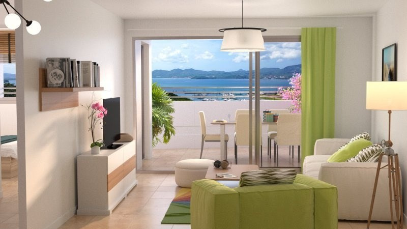 Sale apartment Fort de france 244 000€ - Picture 2