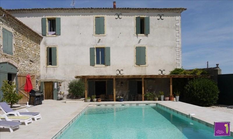 Vente maison / villa Uzes 520000€ - Photo 2