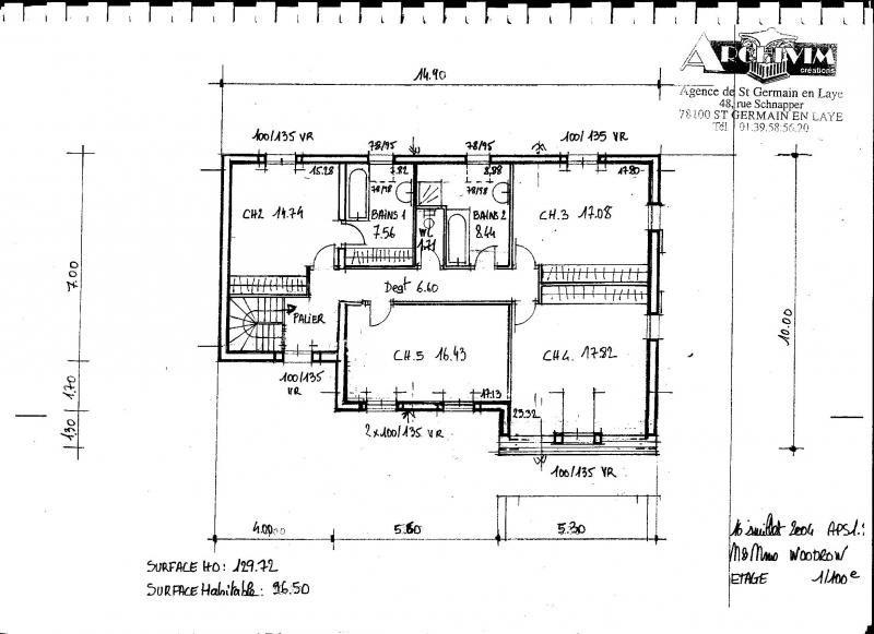 Sale house / villa Orgeval 665000€ - Picture 6