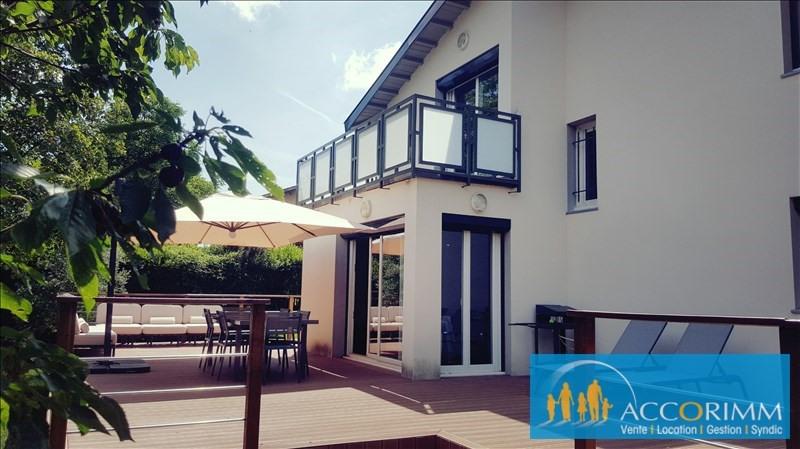 Vente maison / villa Solaize 417000€ - Photo 1