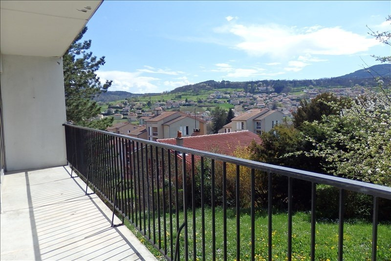 Sale apartment Vals pres le puy 77 000€ - Picture 2