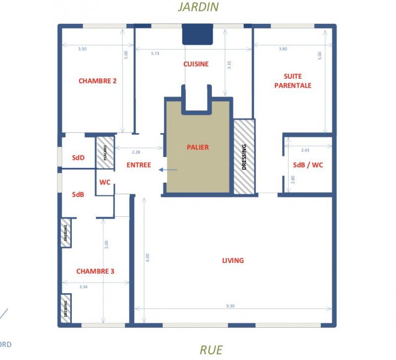 Vente de prestige appartement Neuilly-sur-seine 1540000€ - Photo 10