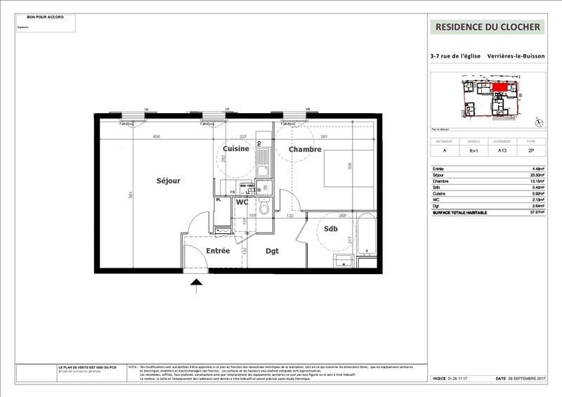 Vente appartement Verrieres le buisson 319000€ - Photo 2