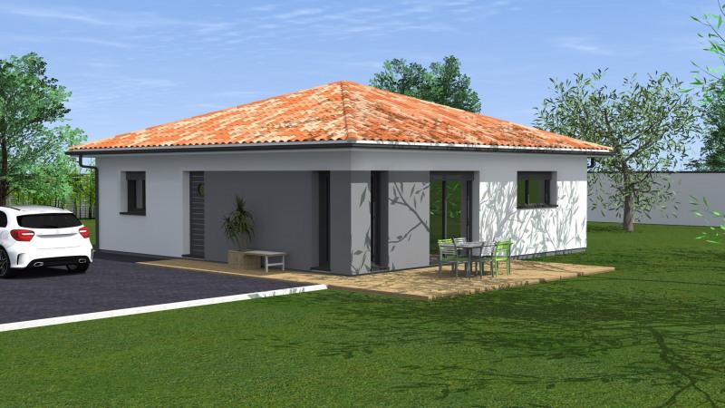 """Modèle de maison  """"Maison 4 pièces"""" à partir de 4 pièces Dordogne par MAISONS CONFORECO - AGENCE ST PAUL LES DAX"""