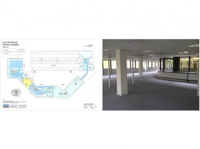 location bureau montigny le bretonneux yvelines 78 358 m r f rence n 12013003l. Black Bedroom Furniture Sets. Home Design Ideas