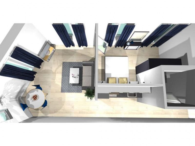 Sale apartment Nice 290 000€ - Picture 2