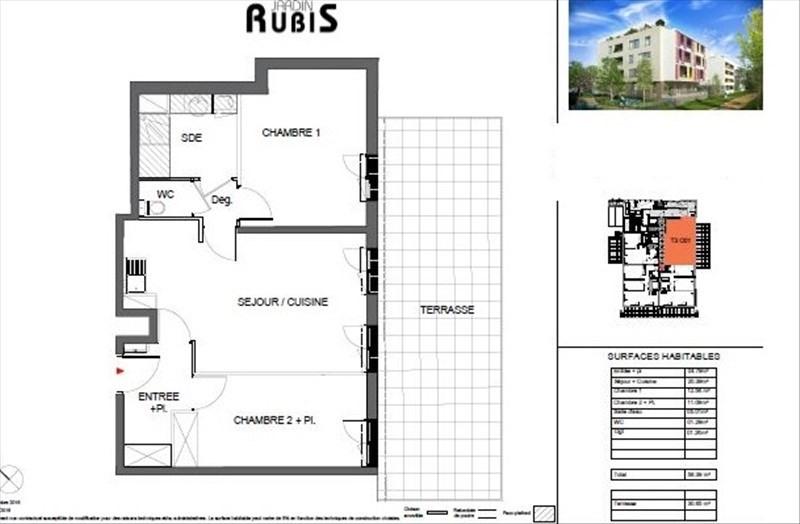 Vente appartement Montpellier 195500€ - Photo 5