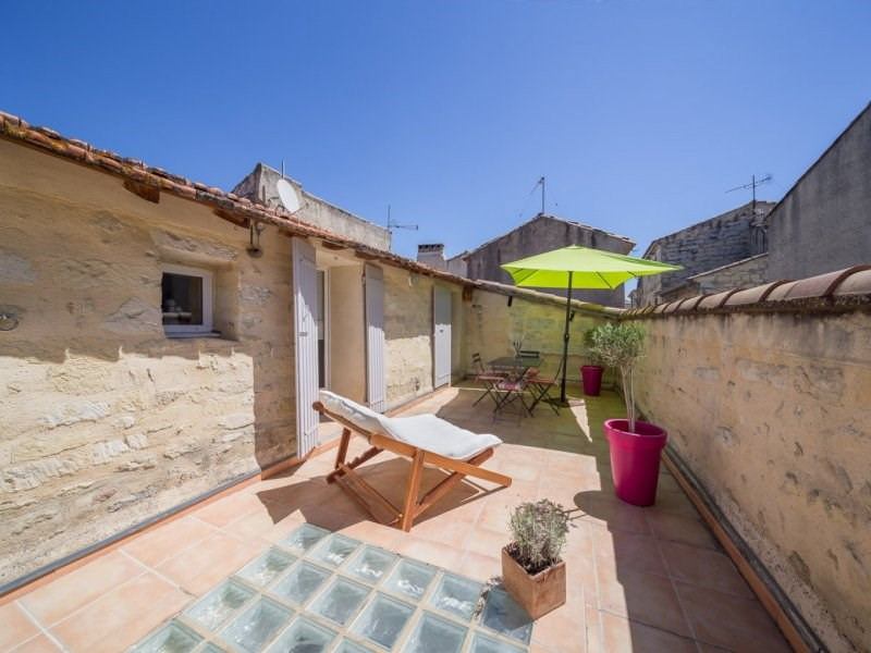Vacation rental house / villa Barbentane 700€ - Picture 1