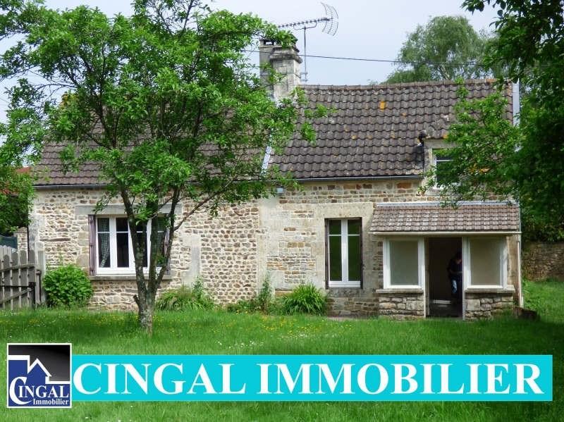 Vente maison / villa Cesny bois halbout 129000€ - Photo 1