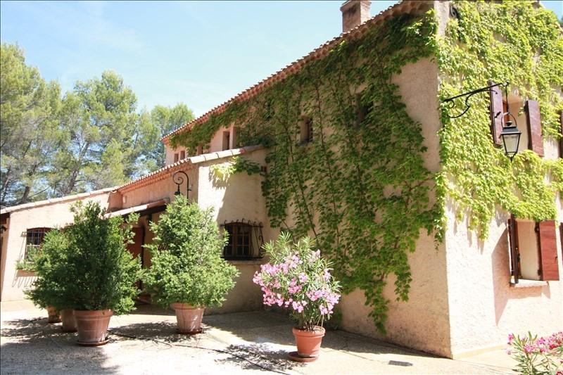Verkoop van prestige  huis Lambesc 950000€ - Foto 1