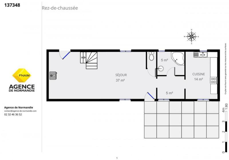 Vente maison / villa La ferte-frenel 128000€ - Photo 5