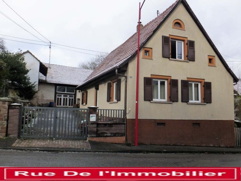 Sale house / villa Zinswiller 170 000€ - Picture 1