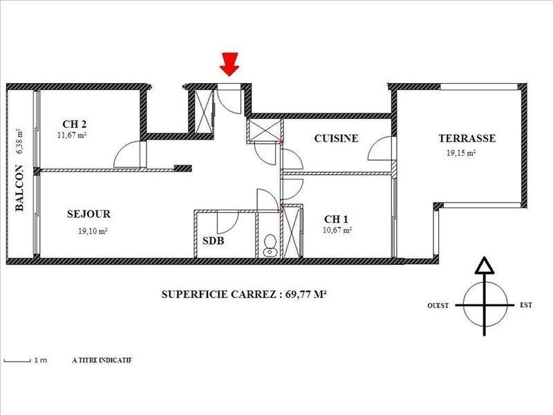 Vente appartement Nice 345000€ - Photo 4